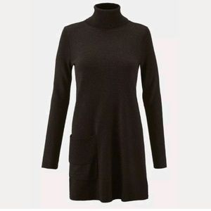 CAbi Fireside Turtleneck 3476 Tunic Sweater Dress